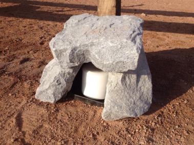 Eine der Salz-Stationen