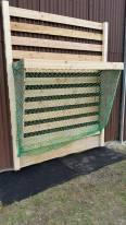 Schöne Wand-Lösung mit Holz